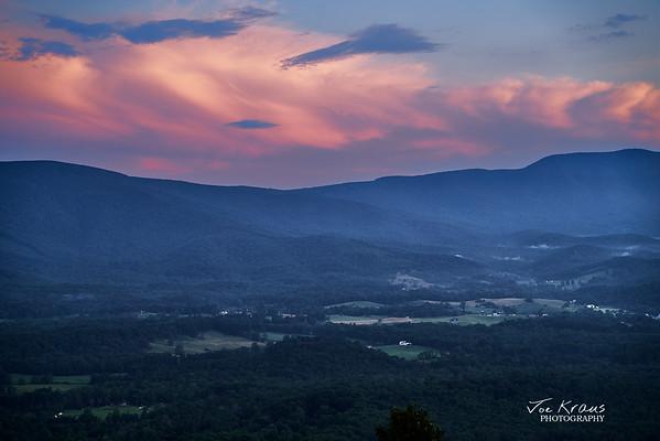 Sunset Shannandoah Valley II