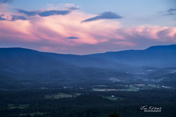 Sunset Shannandoah Valley