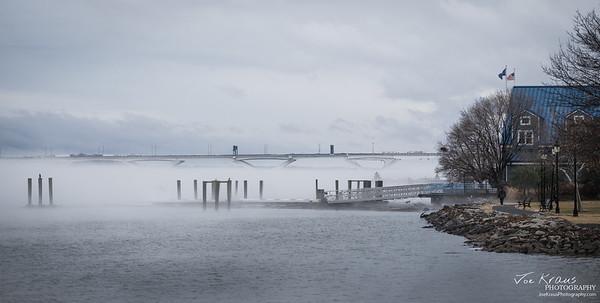 Fog over the Potomac