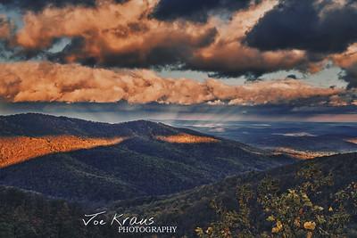 Rays of Fall Sunrise VII