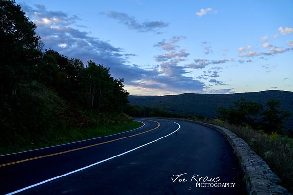 Skyline Drive Dawn