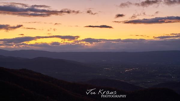 Sunset Glow Shanandoah III