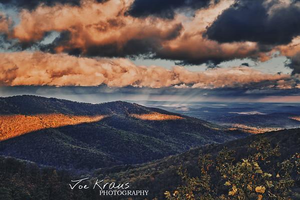 Rays of Fall Sunrise IV