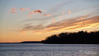 Perfect Potomac River Sunset