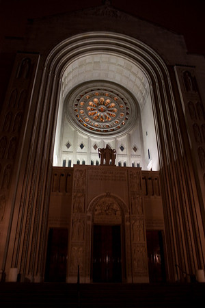 Basilica of the National Shrine of the Immaculate Conception, Main Entrance