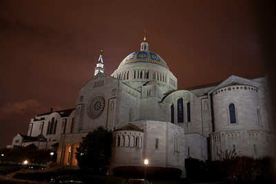 Basilica of the National Shrine of the Immaculate Conception, Side Entrance