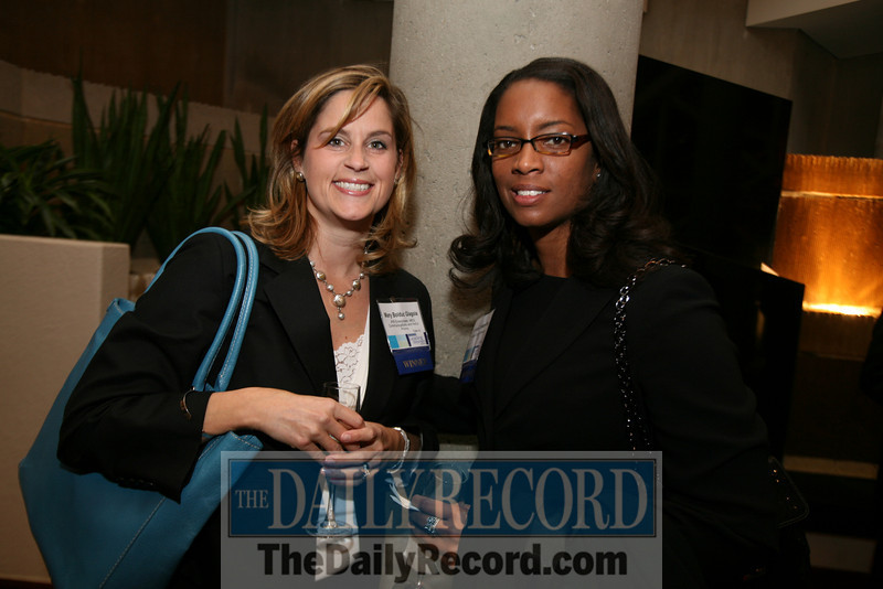 l-r Mary Bolduc Glagoia and Candace Dodson-Reed