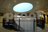 A stunning skylight and spiral staircase on the second floor of Mercy Hospital's Women's Center-sk