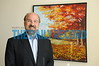 """02.22.12-BALTIMORE, MD- Portraits of Gil Abramson, Attorney with Jackson Lewis LLP. Photos of him in his office with some of his artwork for a story about """"Expansive Application"""" of the Naional Labor Relations Act.  (Maximilian Franz/The Daily Record)"""