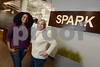 2.12.2016 BALTIMORE, MD- From Left, Shervonne Cherry, Community manager and Beth Boots Workman, Director of Operations at Spark, offices and workspace for entrepreneurs, creators, and innovators. (The Daily Record/Maximilian Franz).