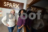 2.12.2016 BALTIMORE, MD- From Left, Beth Boots Workman, Director of Operations and Shervonne Cherry, Community manager at Spark, offices and workspace for entrepreneurs, creators, and innovators. (The Daily Record/Maximilian Franz).