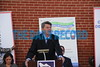 10-17-2016 BALTIMORE, MD- Kenneth Holt, Secretary of Housing and Community Development speaking at the kickoff for Community Development Week.  (The Daily Record/ Maximilian Franz).