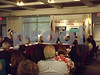 09.09.13 GLENELG, MD- U.S. Labor Secretary Thomas E. Perez and U.S. Commerce Secretary Penny Pritzker and Congressman Steny Hoyer met Monday with a  roundtable of employers, business leaders educators met for a discussion on strengthening workforce skills. Major issues they discussed were the alignment of the educational system with employers' needs and the importance of internships and vocational education.<br />  (Lizzy Mclellan/The Daily Record).