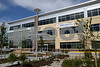 09.26.13 ROCKVILLE, MD- Exterior of the front entrance of the Shady Grove Adventist Aquilino Cancer Center. (Maximilian Franz/The Daily Record)