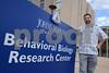 BALTIMORE, MD-Ryan Vandrey, Associate Professor, Dept of Psychiatry and Behavioral Sciences Johns Hopkins University School of Medicine. (The Daily Record/Maximilian Franz)