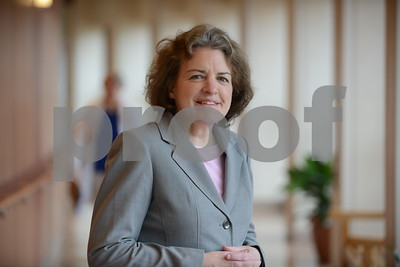 05.06.2016 ANNAPOLIS, MD- Barbara Jacobs, RN, Chief Nursing Officer at Anne Arundel Medical Center. (The Daily Record/Maximilian Franz).