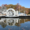 11.18.2016 PASADENA, MD- Clearwater Millls, LLC is in the final stages of constructing the world's newest trash wheel which they are calling, Professor Trash Wheel. The second trash collection system of its kind, will be installed by the Waterfront Partnership at the outfall of Harris Creek Park in Canton during the community unveiling event on December 4th, 2016. The $550,000 for the project was raised through Crowdfunding and businesses in 15 countries, the largest being $200,000 from the Port of Baltimore. (The Daily Record/Maximilian Franz)