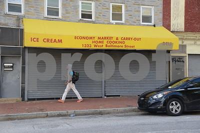Baltimore Street, 1321-1323 West MF2