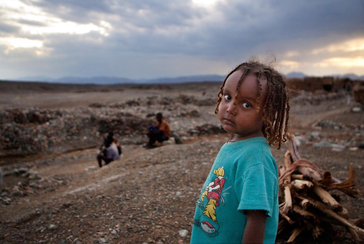 Young girl in Hamed Ela.
