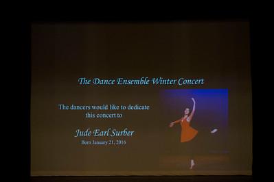 Dance Ensemble Winter Concert 2016