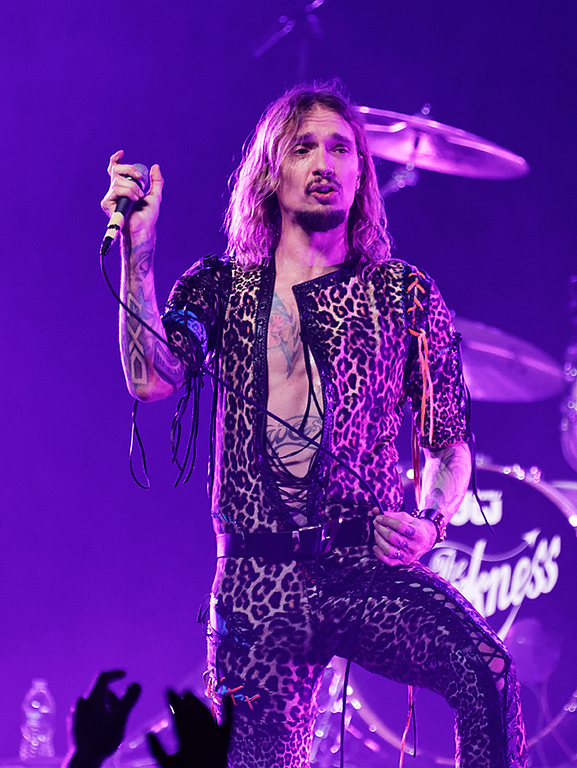 . The Darkness  live at The Majestic in Detroit on 4-13-18. Photo credit: Ken Settle