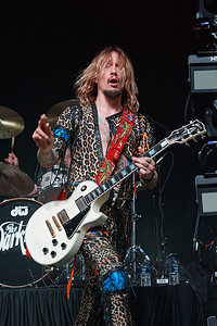 The Darkness  live at The Majestic in Detroit on 4-13-18. Photo credit: Ken Settle