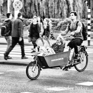 Granny's Sunday Ride, Amsterdam
