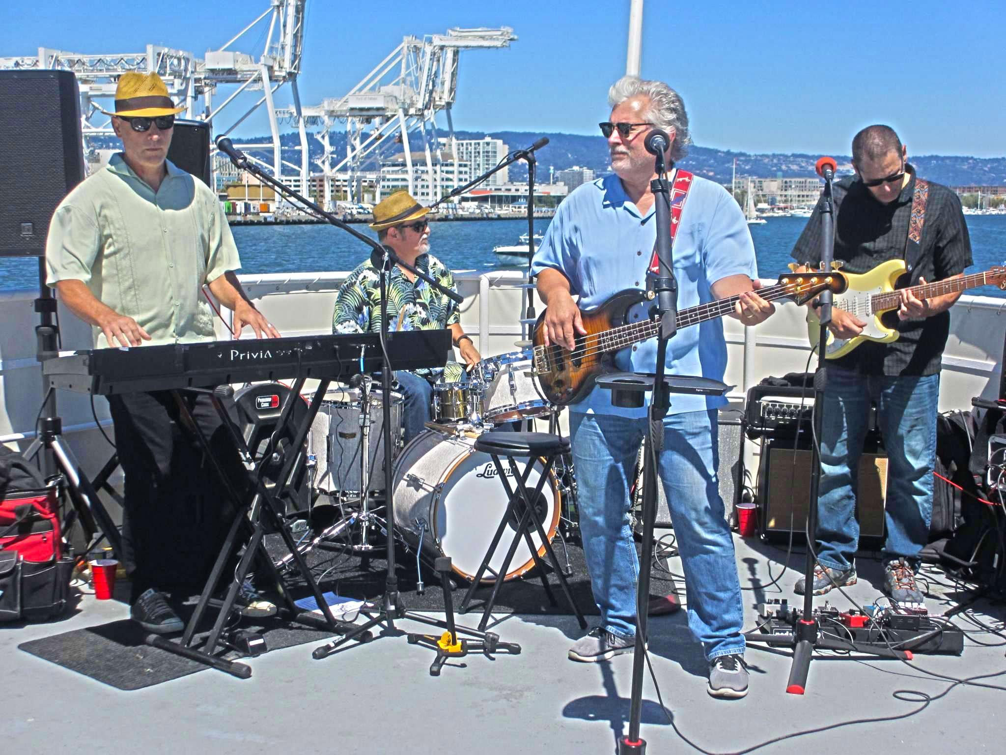 TDR Aboard the USS Potomac