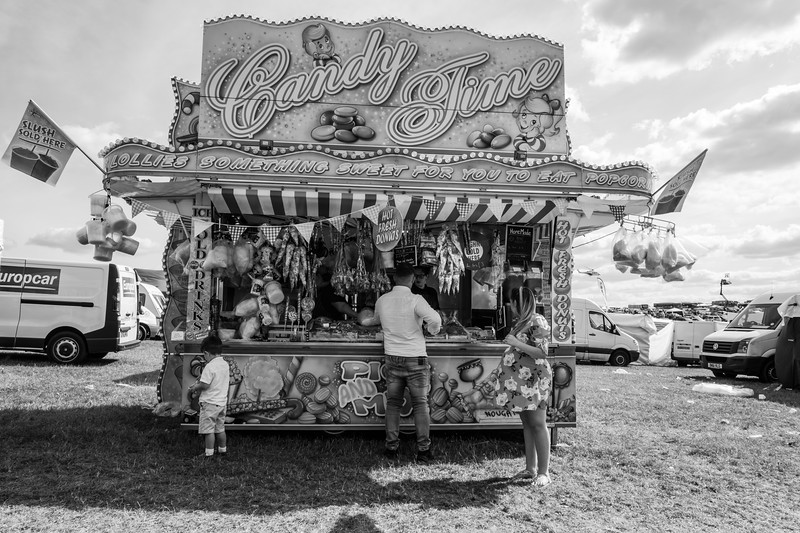 """There are really three types of Derby goers, the """"Toffs"""", the """"Punters"""" and the """"Travellers"""".<br /> What follows is a collection of photos snapped over about 8 years, within the centre of the Derby course, where the fun-fair and the traveller community,  whose business it is, gather together.<br /> <br /> Shot with a FujiFilm X-T2"""