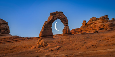 Crescent Arch: Delicate Moon