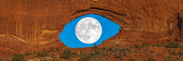 Desert Eye Panorama: Arches National Park