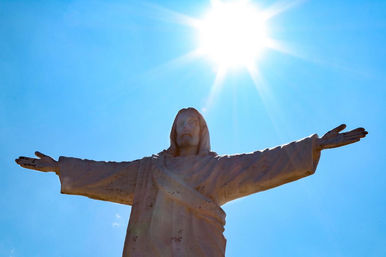 Christ Blessing Cusco