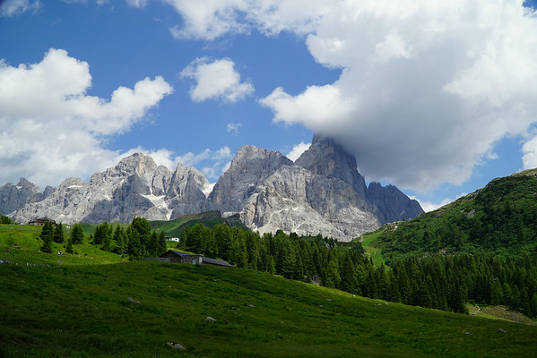 The Dolomites in South Tyrol