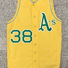 This is a real beauty- Gene Tenace's gold 1971 jersey