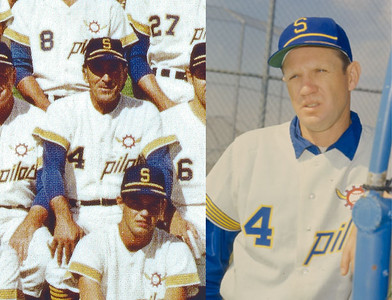 1969 Seattle Pilots home jersey restoration