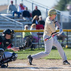 AMANDA SABGA/Staff photo<br /> <br /> Haverhill's pitcher Dalas Vaughn at bat during a game between Haverhill High School and North Andover High School at North Andover.<br /> <br /> 4/23/17
