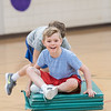 AMANDA SABGA/Staff photo<br /> <br /> Kids enjoy activities during a vacation week program at the South School in Andover.<br /> <br /> 4/20/18