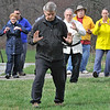 TIM JEAN/Staff photo<br />   <br /> Jim Winner, center, leads guests and members of the Oriental Healing Arts Association of Plaistow as they celebrated World Tai Chi and Qugong Day with an event held at the Tattersall Farm in Haverhill. 4/28/18