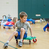 AMANDA SABGA/Staff photo<br /> <br /> Kids enjoy activities during a vacation week program at the South School in Andover.<br /> <br /> 4/20/17