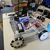 RYAN HUTTON/ Staff photo<br /> One of the robots at the Derive Robotics class taught by Andover High School seniors at the Faith Lutheran Church in Andover.