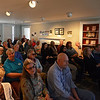 RYAN HUTTON/ Staff photo<br /> A crowd packs into the main hall at the Andover Historical Society on Sunday afternoon to hear a presentation on how South Lawrence was once a part of Andover.
