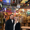 RYAN HUTTON/ Staff photo<br /> Deja Vu Furniture & More owners Tim and Martha Stavrou stand in their Londonderry shop amid the antiques, furniture, signs and oddities.