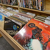"""RYAN HUTTON/ Staff photo<br /> A copy of Meat Loaf's """"Bat Out of Hell"""" sits in the vinyl records aisle at Comically Speaking in Reading."""