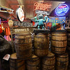 RYAN HUTTON/ Staff photo<br /> A collection of wooden barrels and signs at Deja Vu Furniture & More in Londonderry.