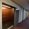 RYAN HUTTON/ Staff photo<br /> One of the elevators at the Bay State Building on Lawrence Street in Lawrence has been repaired. A judge said on Wednesday that not enough repair work has been done on the building and continued the matter until May 2nd.