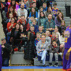 RYAN HUTTON/ Staff photo<br /> The crowd laughs at the antics of the Harlem Wizards during their show at Londonderry High School on Monday night.