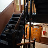 RYAN HUTTON/ Staff photo<br /> The stairwells of the Bay State Building on Lawrence Street in Lawrence have been cleaned up and painted but a judge said on Wednesday that not enough repair work has been done on the building and continued the matter until May 2nd.