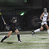 CARL RUSSO/staff photo. Andover's Hannah Medwar shoots on net. Andover defeated Central Catholic 3-0 in field hockey action. 10/01/2018