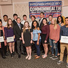 AMANDA SABGA/Staff photo<br /> <br /> during the annual Eagle-Tribune Student Athlete Banquet at Michael's Function Hall in Haverhill.<br /> <br /> 4/25/18