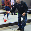 CARL RUSSO/Staff photo Charlie Bonanno of Methuen releases his bocce ball to start his match. <br /> <br /> Twenty two teams with 100 players participated in the 4th Annual Foster Kids of the Merrimack Valley Bocce and eight teams participated in first corn hole tournament on Saturday, April 27 at the Methuen Sons of Italy.  <br /> <br /> The event helps to support the Helene Giordano Memorial Scholarship Fund. Helene Giordano, who passed away in 1990, was Larry Giordano's foster mother. <br /> <br /> Two--$2,500 scholarships are given each year to young adults who are in or have been in foster care thru the Lawrence or Haverhill DCF, Department of Children and Families offices. 4/27/2019